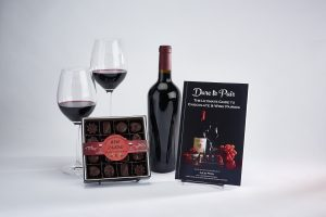 Dare to Pair, Red Wine, Dark chocolate pairing collection