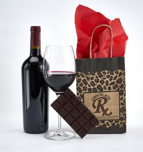 Red wine and dark chocolate