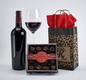 Red wine and dark chocolate pairing collection